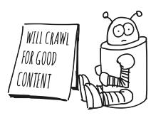 De googlebot lust ook wel goede content!