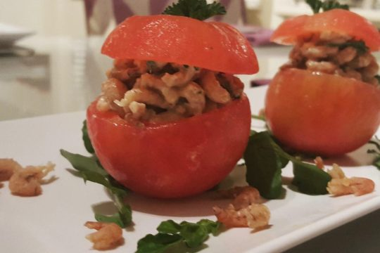 Belgian stuffed tomatoes