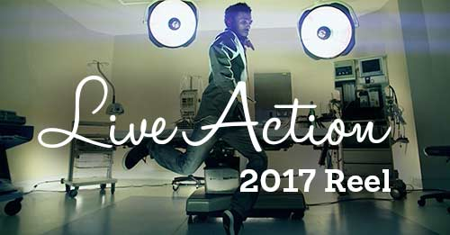 Live Action Reel 01-2017