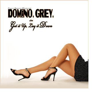 Album Cover Domino Grey Get it Up, Lay it Down