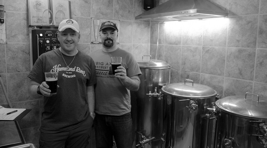 A Tale Of Two Breweries: NB Nano-Brewery Brotherhood At Its Finest