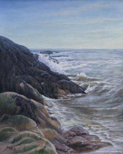 Fundy Shoreline (Courtesy of Dale Cook)