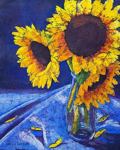 ('Sunflower Glass' Courtesy of Krista Hasson)