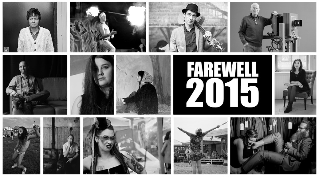 A Farewell To 2015