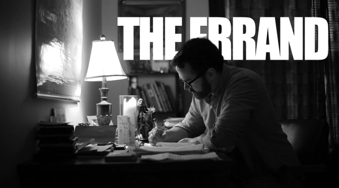 The Errand: Saint John Writer Gets Publishing Deal For Graphic Novel