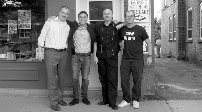 Lloyd Ravn, James Mullinger, Neal Mundle, Shane Ogden (Courtesy of James Mullinger)