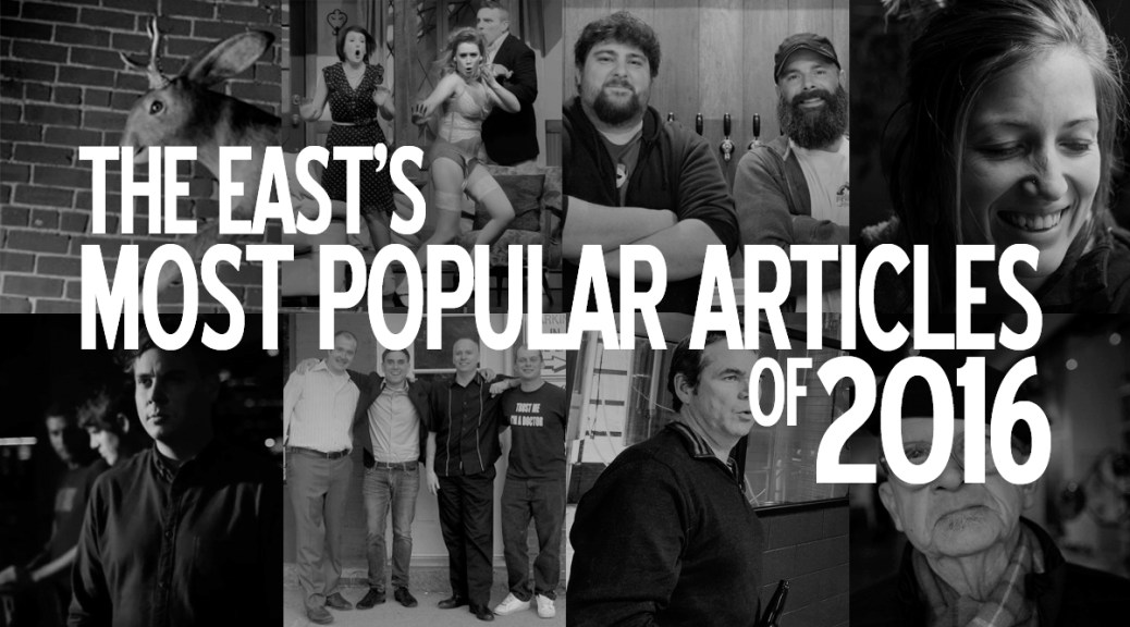 The East's Most Popular Articles Of 2016