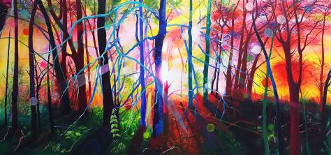 ('Magic Forest' by Jean Rooney)