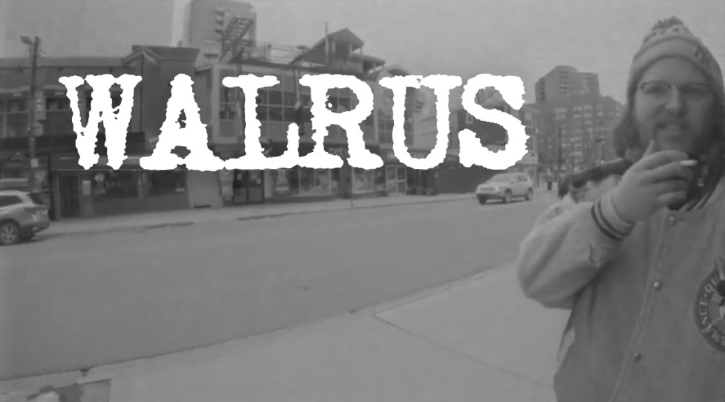 Music Video: Walrus' 'In Timely Fashion'