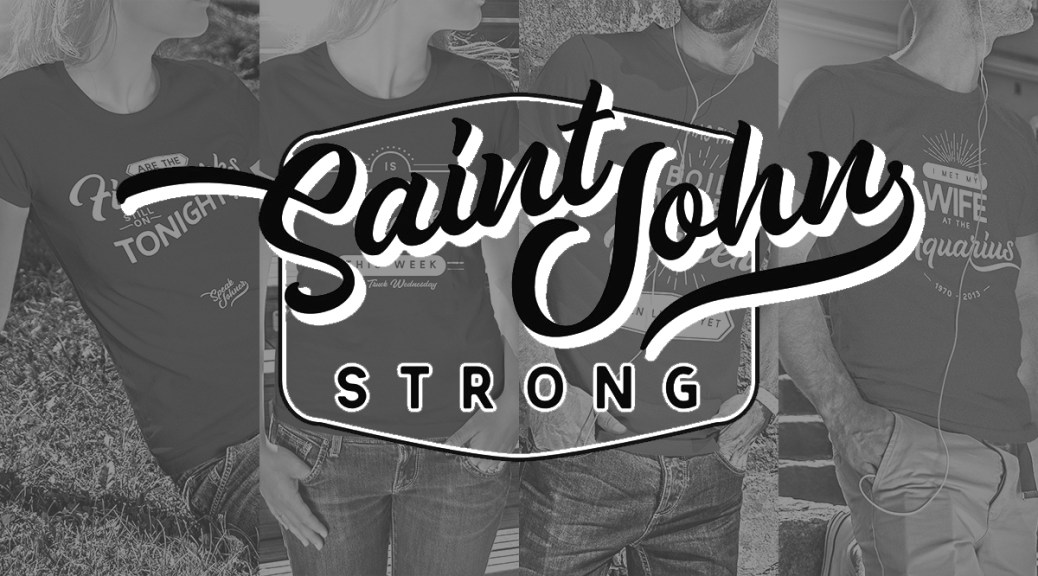 Saint John Strong Celebrates Saint John's Quirks In T-Shirt Form