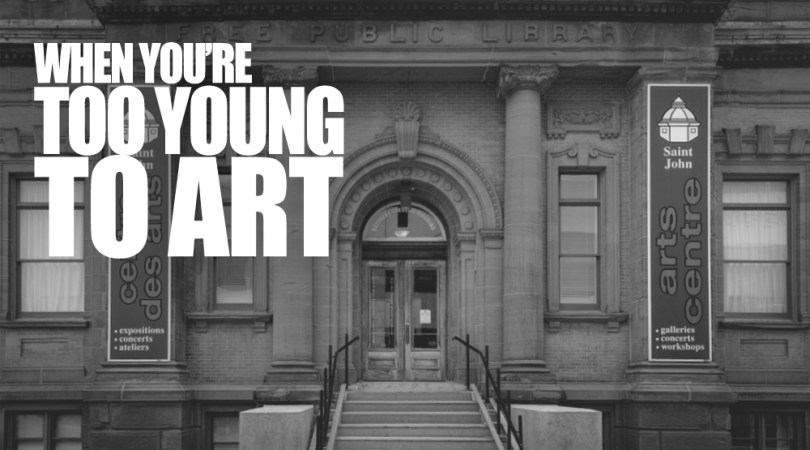 Too Young To Art