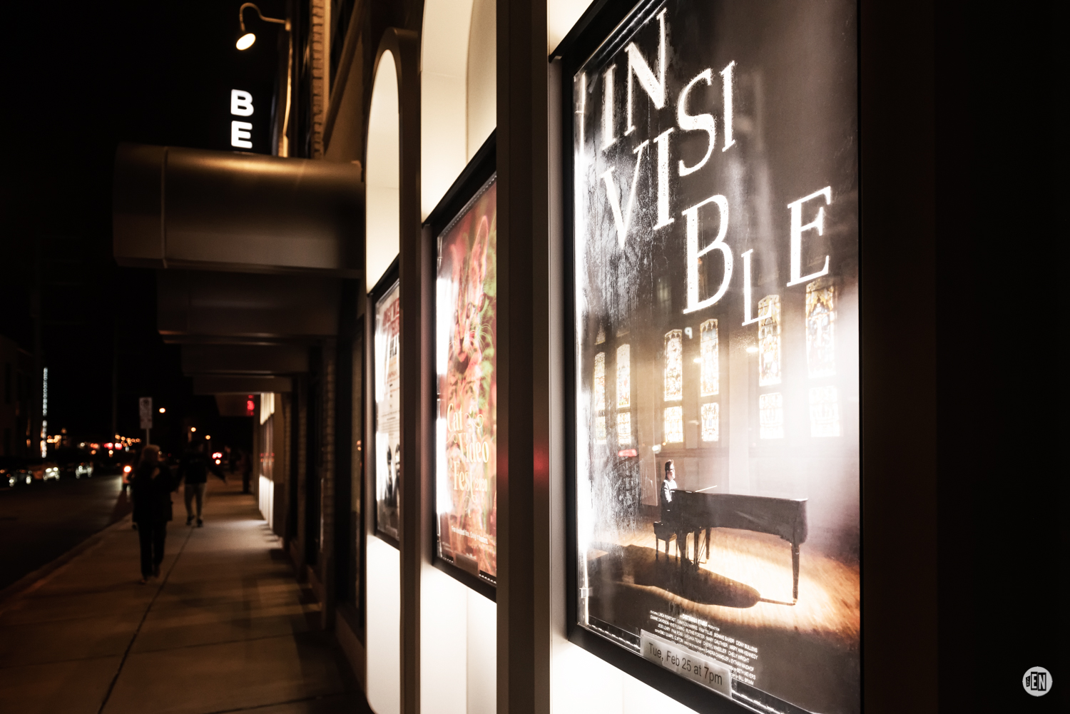 Belcourt Theater for the premier of 'Invisible'. Photo by Eric England.