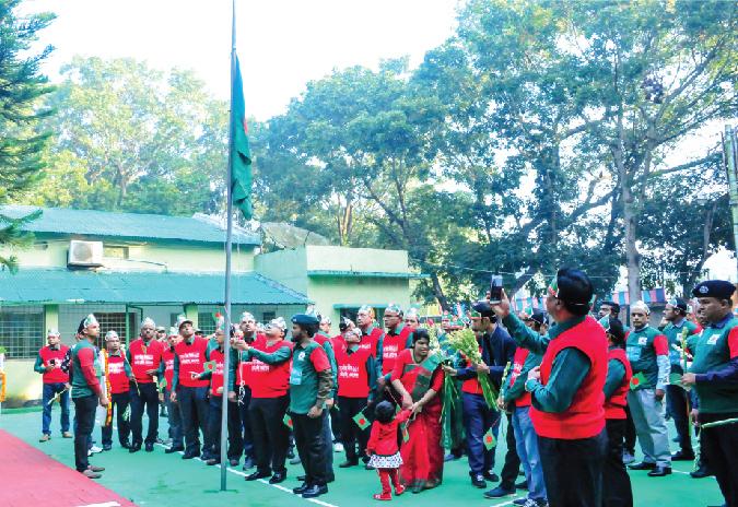 Text Box: Celebration of Nabobarsha Day at Custom House Benapole