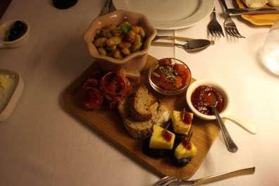 Camafeu Restaurant, Delicious Starter, Porto, Portugal