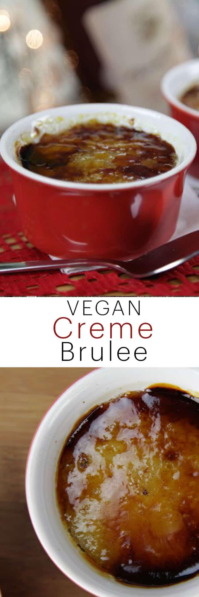 Vegan Creme Brulee