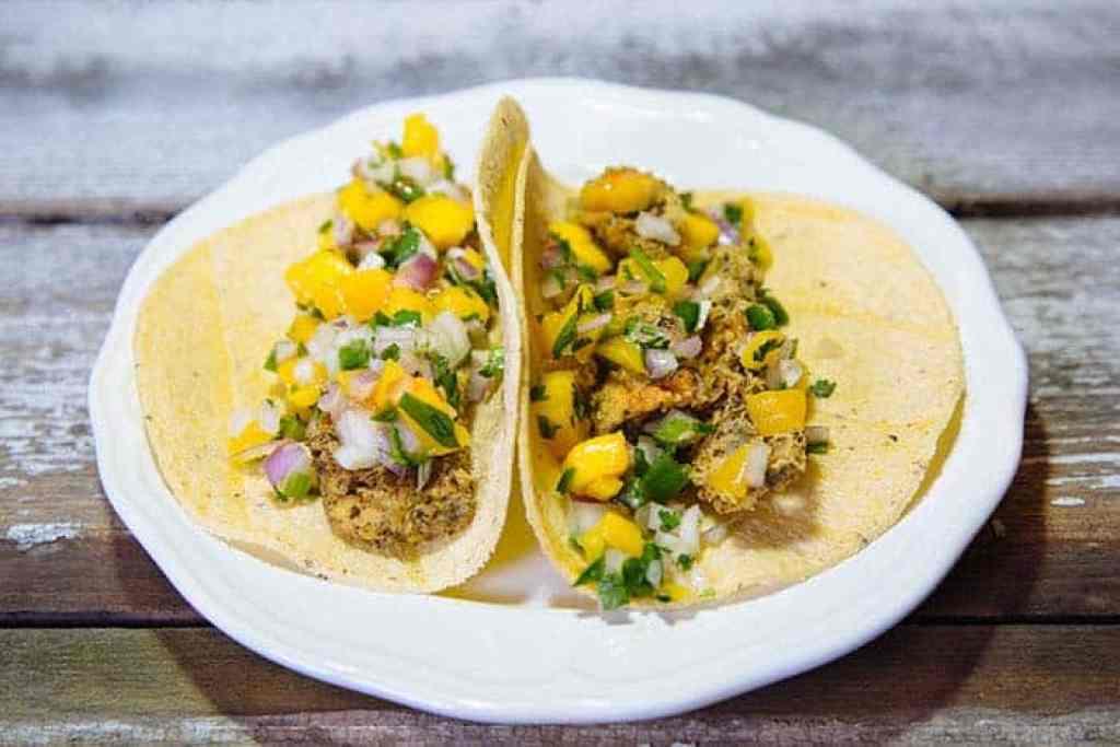 vegan fish taco