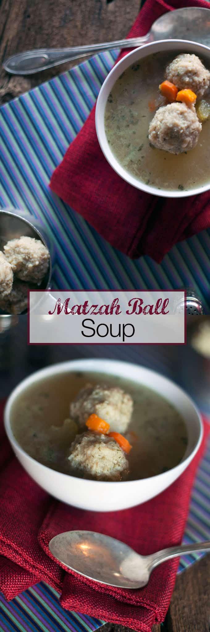 vegan Matzah Ball Soup