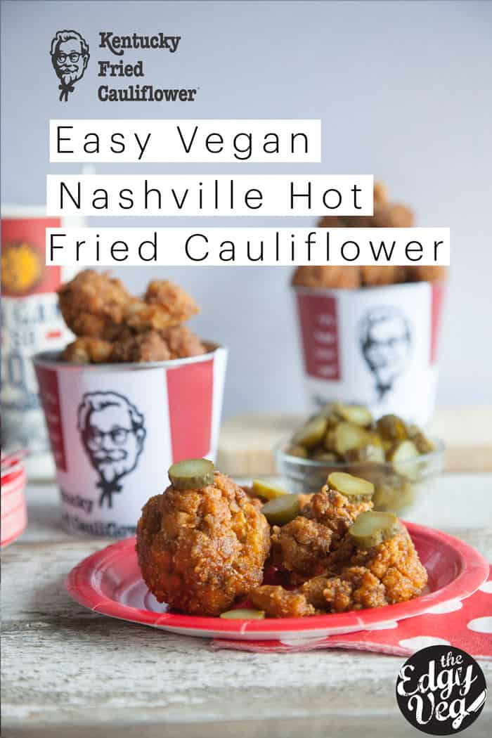 KFC Nashville Hot Chicken - Vegan Cauliflower Recipe - Secret KFC Spices Revealed