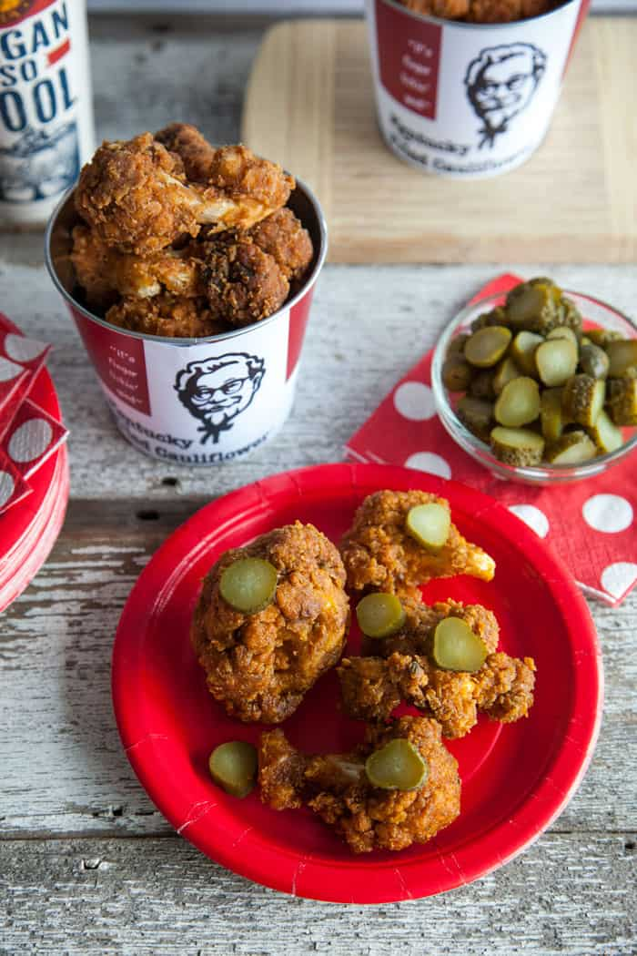 KFC Nashville Hot Chicken Recipe using Cauliflower vegan recipe