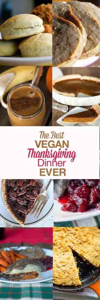 vegan thanksgiving dinner recipes