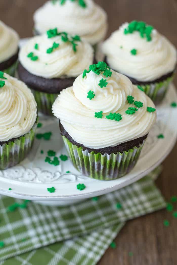 Guinness Cupcakes w/ Bailey's Buttercream | VEGAN Cupcake Recipe