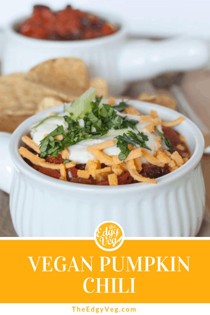 Best Vegan Pumpkin recipes pumpkin chili