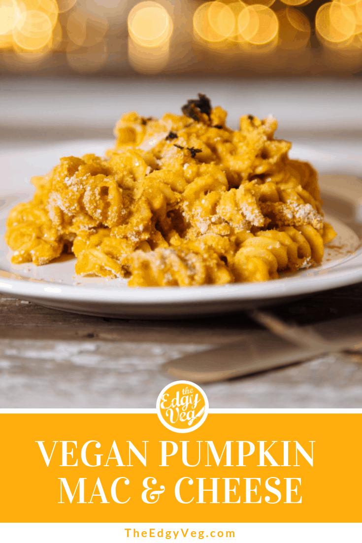 Best Vegan Pumpkin recipes pumpkin mac and cheese