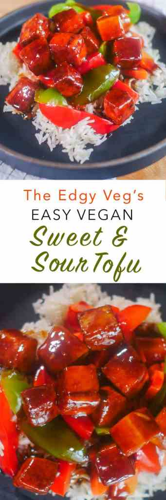 Sweet & Sour Tofu | The Edgy Veg