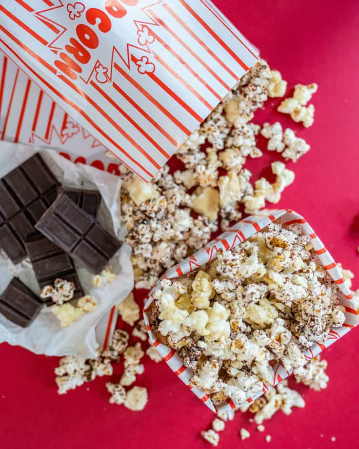 Chocolate Covered Popcorn