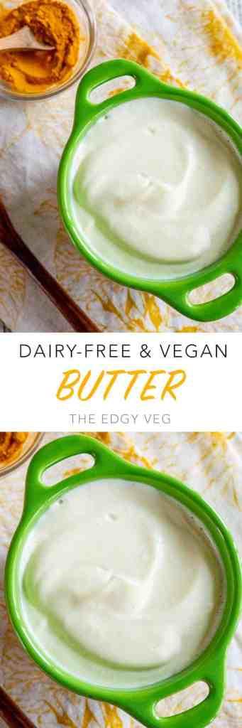 Homemade Vegan Butter Recipe
