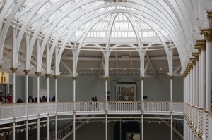 TER National Museum of Scotland roof