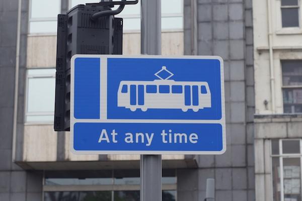 TER tram sign