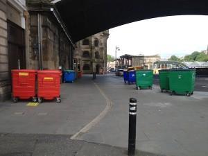TER bins on Market Street