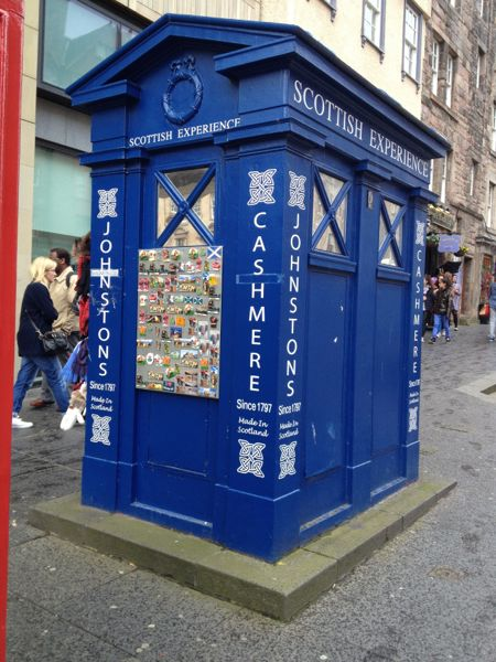 TER Royal Mile top of Mound Police Box - 3