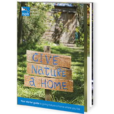 RSPB Give Nature a Home booklet