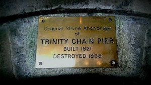 old chain pier plaque