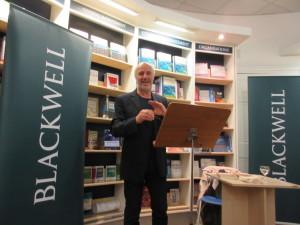 J David Symons @ Blackwell's Oct 29