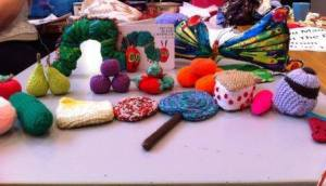 The Very Hungry Caterpillar, a story sack made for Smilechildcare