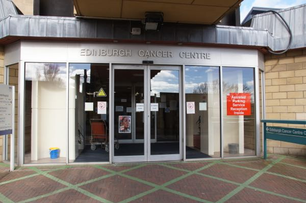 Image result for cancer centre in Edinburgh Western General Hospital