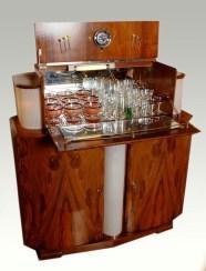 walnut drinks cabinet