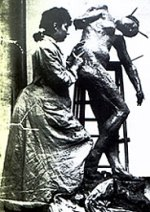 camille claudel sculpting