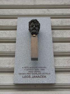 monument to janacek