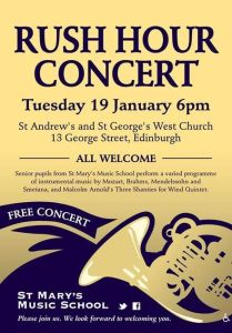 st mary's rush hour concert