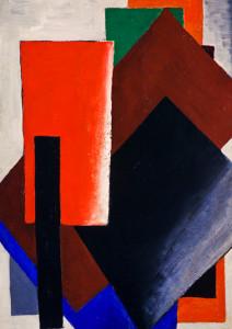 Lyubov Popova, Painterly Architectonic, 1916