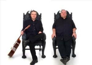 mick west and frank mclaughlin at leith folk club