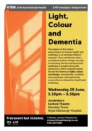 artlink - light, colour, dementia