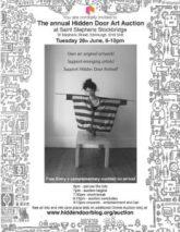 hidden door auction poster