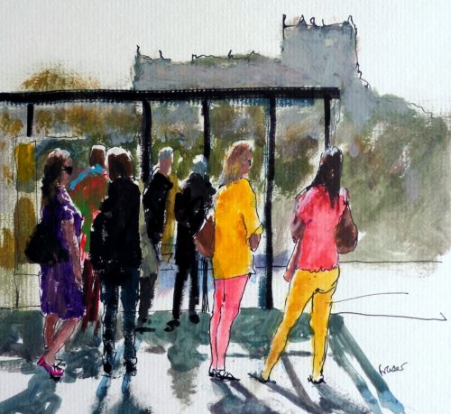 St Columbia's Hospice Art Exhibition at The Edinburgh Academy – The