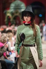 A MODEL WEARS A DESIGN BY ECA STUDENT Rosa Cameron