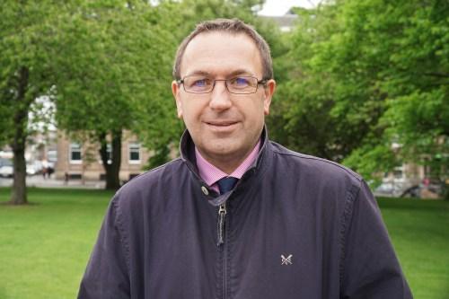 Roddy Smith CEO of Essential Edinburgh